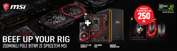 MSI Beef up your rig - Promocja