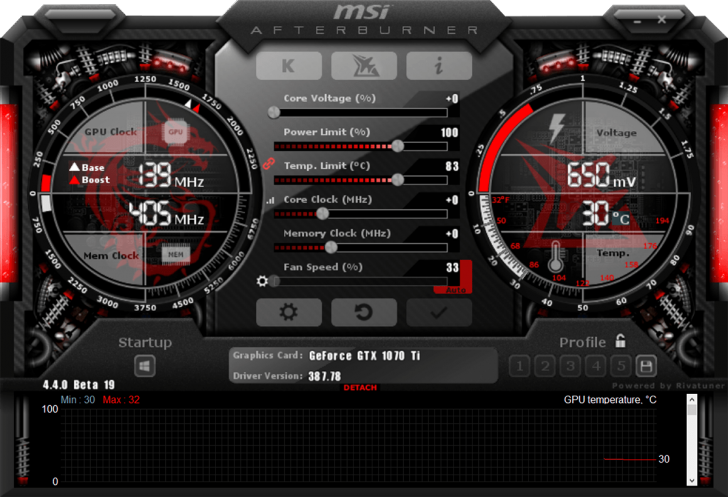 Afterburner 1070tiarmor