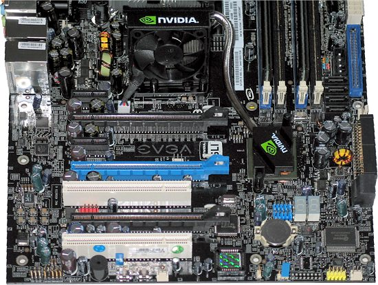 EVGA Nvidia nForce 680i -