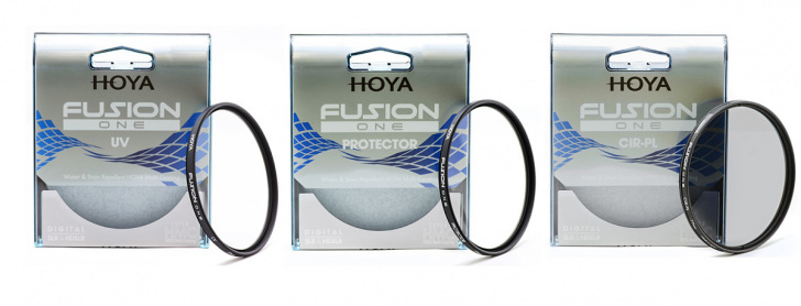 Hoya Fusion One Filter Serie Verpackung