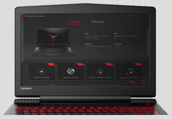 Lenovo Laptop Legion Y520 15 Feature 3