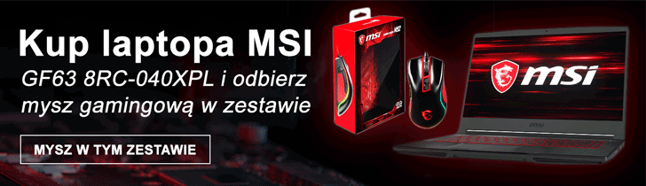 Msi Mysz Laptop Karta