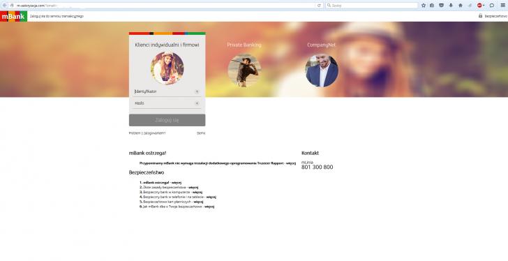 Phishing Niebezpiecznik Atak Mbank Wiadomość Serwis Transakcyjny 2