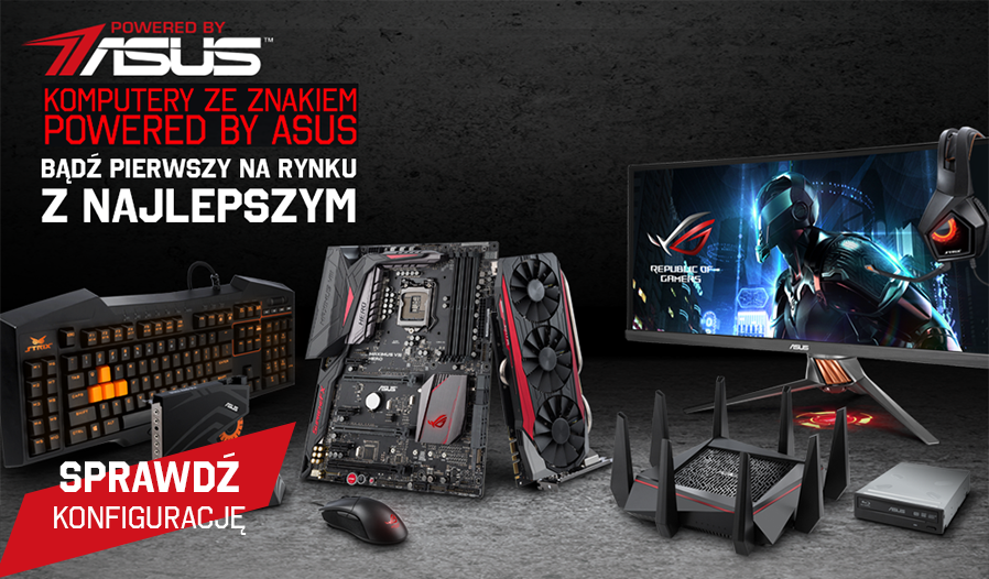 Powered By Asus Landing Page