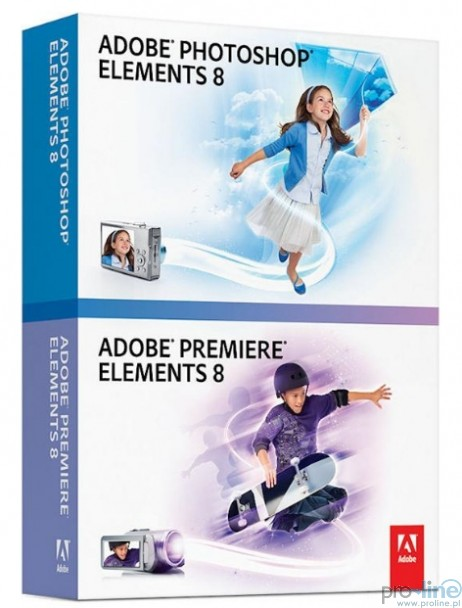 Adobe Photoshop Elements 8 Multilingual + Premiere Elements 8 (2009