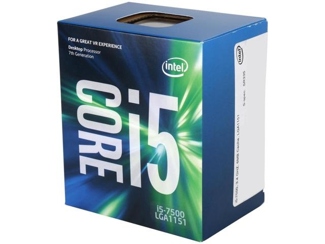Procesor Intel Core i5-7500 Kaby