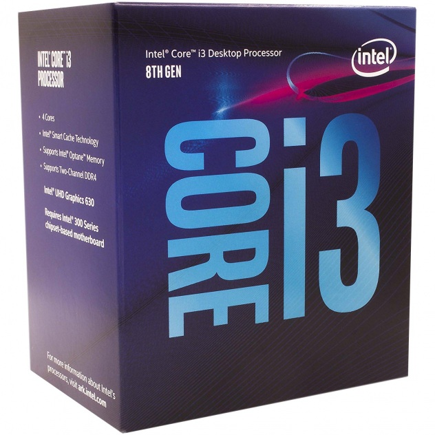 Procesor Intel Core i3-8100 Coffee