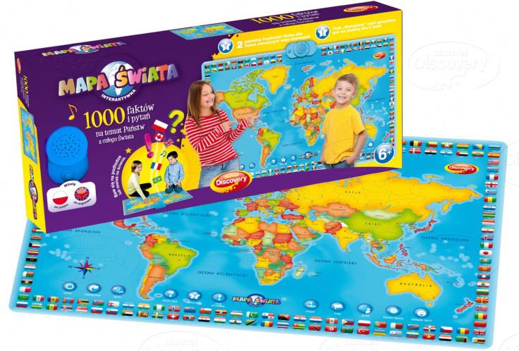Mapa produktów sklepu zabawki