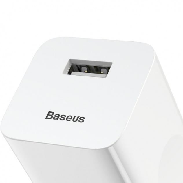 Baseus QC3.0 FC67E CCALL BX02 24W szybka ładowarka sieciowa z gniazdem USB Quick Charge 3.0