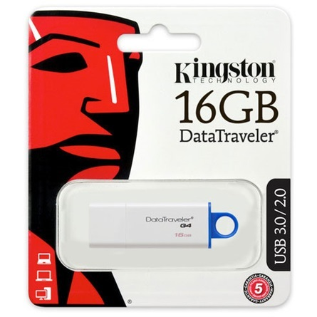 Kingston 16GB USB 3.0 DTIG4 DataTraveler Gen 4 DTIG4/16GB.