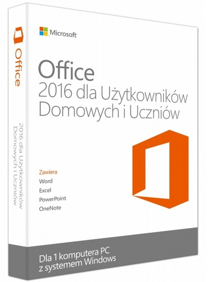 MS Office 2016 Home Student 32-bit