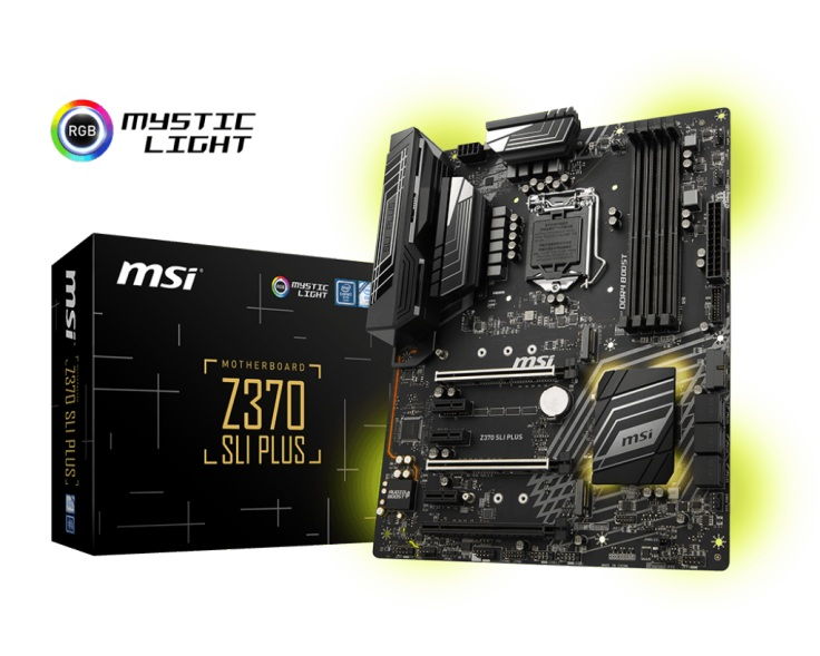 MSI Z370 SLI PLUS DDR4 1151