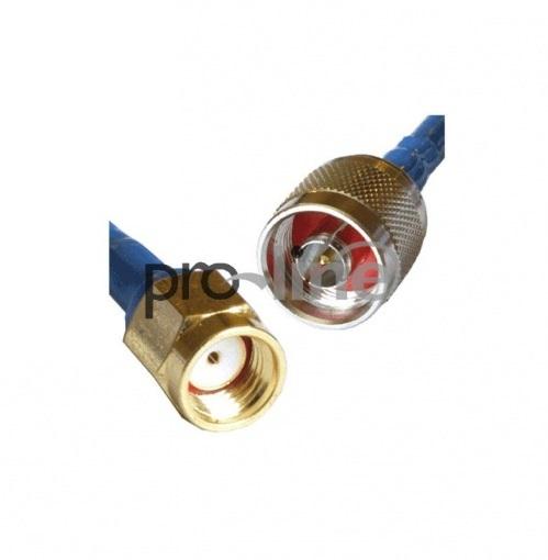 Kabel antenowy RF5 - Nm/wtyk RP-SMA 2m - Sklep ProLine.pl