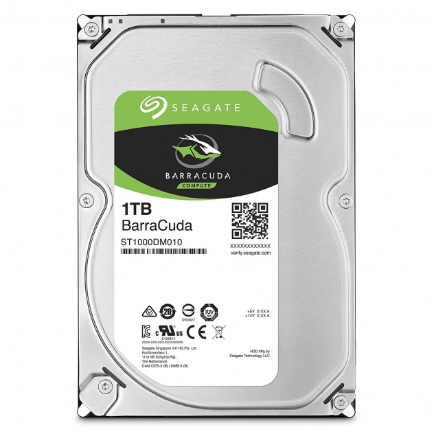 Seagate BarraCuda ST1000DM010 1TB