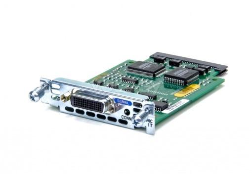 Интерфейсная карта Cisco WIC-1T с одним портом serial WAN.?Однопортовый аси