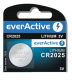 everActive Bateria Pastylkowa CR2025 Lithium Battery 3v 1szt